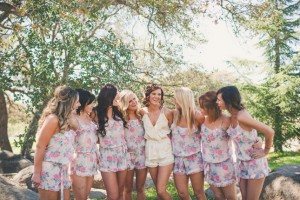 Romper Bridal Party