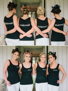 Tanktop bridal party